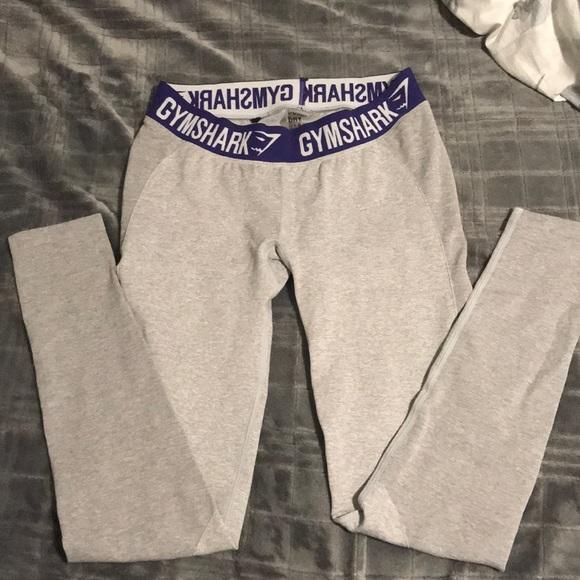 3d01f6fe4a88d1 Gymshark Pants - Never worn, Gymshark light gray flex leggings.